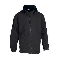 Polar jacket, unisex, XXL, M-XXL, 20FEB16504, Polar fleece, Negru