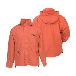 Jacket, unisex, XXL, M-XXL, 20FEB16362, Nylon, Microfibra, Portocaliu