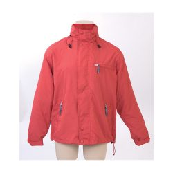 Jacket, unisex, XXL, M-XXL, 20FEB16366, Nylon, Microfibra, Rosu