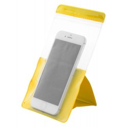 Husa impermeabila pentru telefon, 110×95×190 mm, Everestus, 20FEB10792, PVC, Galben