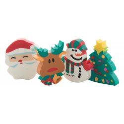 Christmas Radiera set, Everestus, 20FEB4390, Cauciuc, PVC, Multicolor