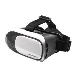 Virtual reality headset, 140×129×200 mm, Everestus, 20FEB12150, Plastic, Alb, Negru