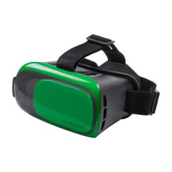 Virtual reality headset, 140×129×200 mm, Everestus, 20FEB12148, Plastic, Verde, Negru