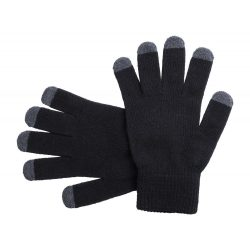 Manusi touchscreen, Everestus, 20FEB17084, Acril, Negru, Gri