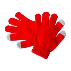 Manusi touchscreen pentru copii, 150×125 mm, Everestus, 20FEB17078, Acril, Rosu, Gri
