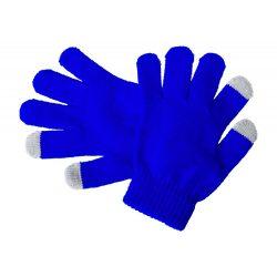 Manusi touchscreen pentru copii, 150×125 mm, Everestus, 20FEB17076, Acril, Albastru, Gri