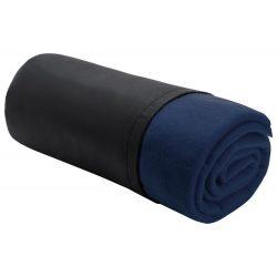 Patura Polar 180 grame/mp cu saculet, 1170×1500 mm, Everestus, 20FEB12221, Polar fleece, Albastru