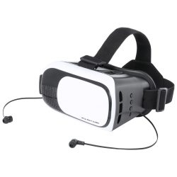 Virtual reality headset, 190×145×125 mm, Everestus, 20FEB12164, Plastic, Alb, Negru