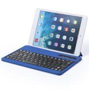Keyboard holder, 220×11×143 mm, Everestus, 20FEB10589, Piele ecologica, Albastru