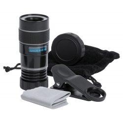 Smartphone lens, 95×135×35 mm, Everestus, 20FEB5629, Sticla, Negru