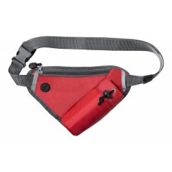Waistbag, 270×180 mm, Everestus, 20FEB7566, 210D Poliester, Rosu