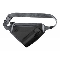 Waistbag, 270×180 mm, Everestus, 20FEB7563, 210D Poliester, Negru
