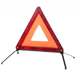 Emergency warning triangle, 430×430 mm, Everestus, 20FEB8171, Plastic, Multicolor