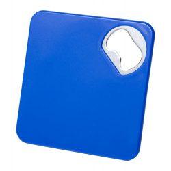Suport pahar cu desfacator, 82×82×4 mm, Everestus, 20FEB17184, Albastru