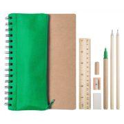 Agenda, 155×210×9 mm, Everestus, 20FEB10273, Hartie reciclata, Verde, Natur
