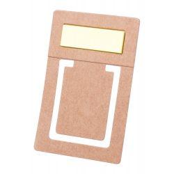 Semn de carte, 45×82 mm, Everestus, 20FEB11399, Hartie reciclata, Natur