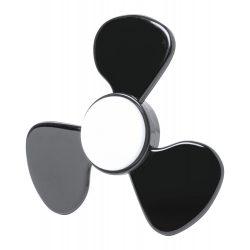 Fidget spinner, 79×79×12 mm, Everestus, 20FEB16258, ABS, Negru