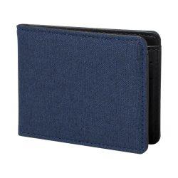 Portofel, 110×86×13 mm, Everestus, 20FEB7710, Poliester, Albastru