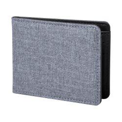 Portofel, 110×86×13 mm, Everestus, 20FEB7711, Poliester, Gri