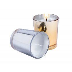 Lumanare parfumata, pine, ø56×67 mm, Everestus, 20FEB3690, Ceara, Argintiu