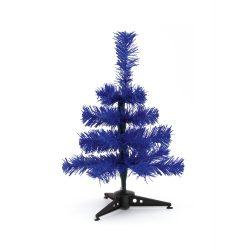 Christmas tree, ø150×300 mm, Everestus, 20FEB16242, Plastic, Albastru