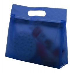 Geanta cosmetice, 240×220×75 mm, Everestus, 20FEB13655, PVC, Albastru