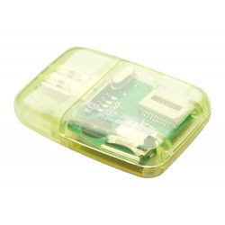 Memory card reader, Everestus, 20FEB4068, Plastic, Galben