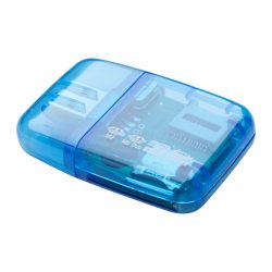 Memory card reader, Everestus, 20FEB4065, Plastic, Albastru