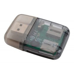 Memory card reader, Everestus, 20FEB4064, Plastic, Negru