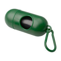Dog waste bag dispenser, 40×100 mm, Everestus, 20FEB7966, Plastic, Verde
