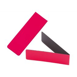 Semn de carte, 20×60×2 mm, Everestus, 20FEB11414, Magnet, Plastic, Rosu