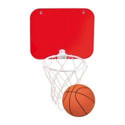 Mini cos de basket cu ventuze, 200×160 mm, Everestus, 20FEB6549, PVC, Rosu