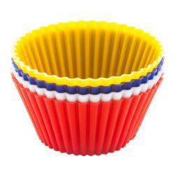 Muffin molds, Everestus, 20FEB11095, Silicon, Multicolor