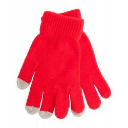 Manusi touchscreen, Everestus, 20FEB17062, Poliester, Rosu, Gri