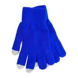 Manusi touchscreen, Everestus, 20FEB17059, Poliester, Albastru, Gri