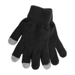 Manusi touchscreen, Everestus, 20FEB17058, Poliester, Negru, Gri