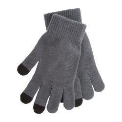 Manusi touchscreen, Everestus, 20FEB17057, Poliester, Gri, Negru