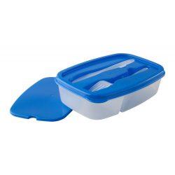 Caserola pranz, 1000 ml, 155×60×225 mm, Everestus, 20FEB2893, Plastic, Albastru