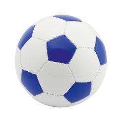 Minge de fotbal, marime 5, ø220 mm, Everestus, 20FEB7757, Piele ecologica, PVC, Albastru