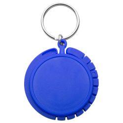 Agatatoare pentru geanta, ø45×8 mm, Everestus, 20FEB8813, Plastic, Albastru