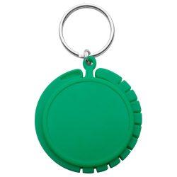 Agatatoare pentru geanta, ø45×8 mm, Everestus, 20FEB8814, Plastic, Verde