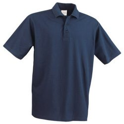 Polo shirt, unisex, XXXL, 20FEB12915, Albastru