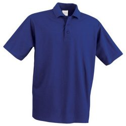 Polo shirt, unisex, XXXL, 20FEB12913, Albastru