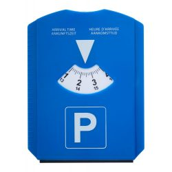 Parking card, 118×160 mm, Everestus, 20FEB13456, Plastic, Albastru