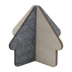 House figure, 85×70 mm, Everestus, 20FEB7828, Pasla, Lemn, Natur, Gri