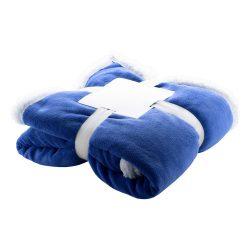 Patura dublu strat, 200 grame/mp, 1200×1500 mm, Everestus, 20FEB12214, Polar fleece, Albastru, Alb