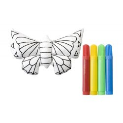 3D painting toy, butterfly, 160×70×50 mm, Everestus, 20FEB1940, Poliester, Multicolor