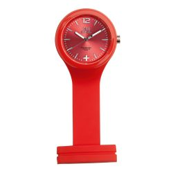 Ceas de masa, LolliClock by AleXer, 20IAN3098, Plastic, Silicon, Rosu